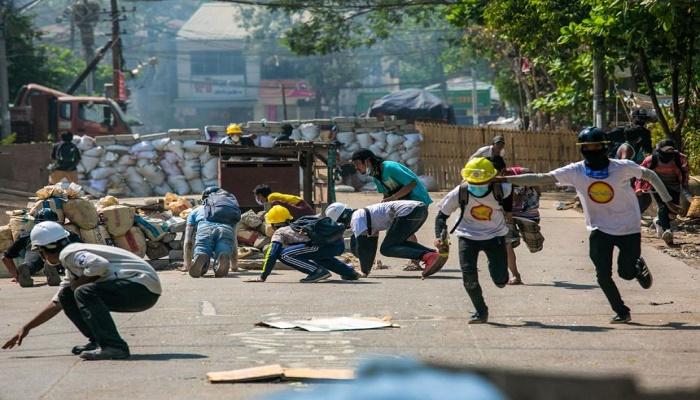 2 more killed in gunfire; international pressure on Myanmar junta officials grows