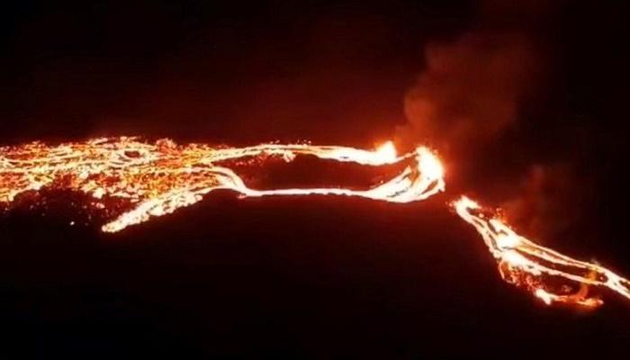 Icelandic volcano erupts near Reykjavik