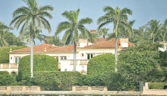 Trump's Florida residence closed over corona