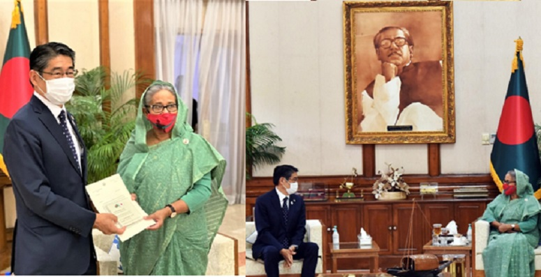 Documentary Video on Bangabandhu's Visit to Japan in 1973 handed over to PM