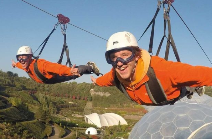 England's 'longest and fastest' zip wire set to open in April