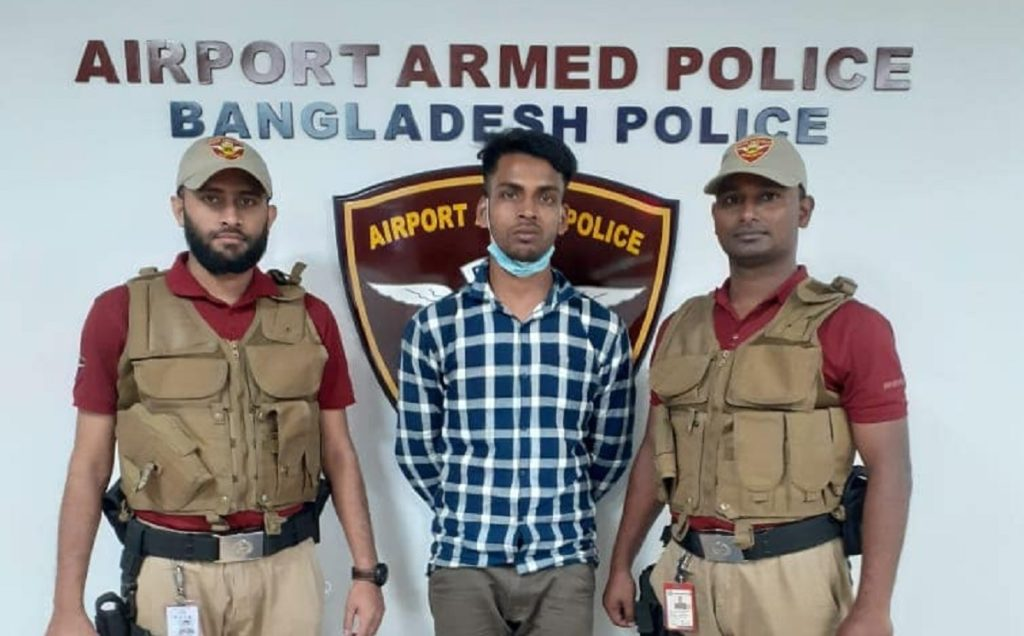 Man arrested with 10,000 yaba pills at Dhaka airport