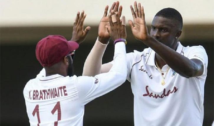 Ex-captain Holder stars as Windies take control against Sri Lanka