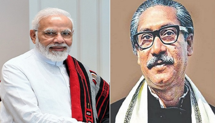 Modi tweets on Gandhi Peace Prize to Bangabandhu