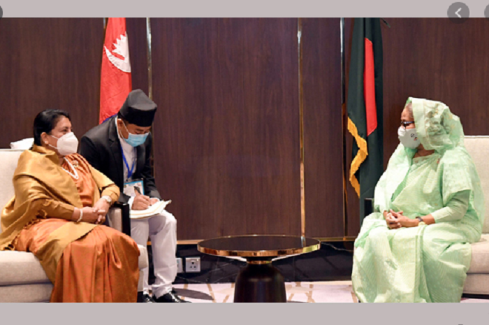 Nepalese President eulogizes Sheikh Hasina as much inspiring leader in world