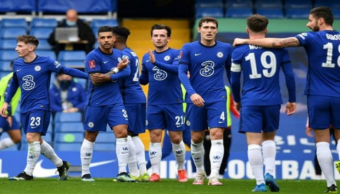 Leicester rock Man Utd to reach FA Cup semis, Chelsea face Man City in last four