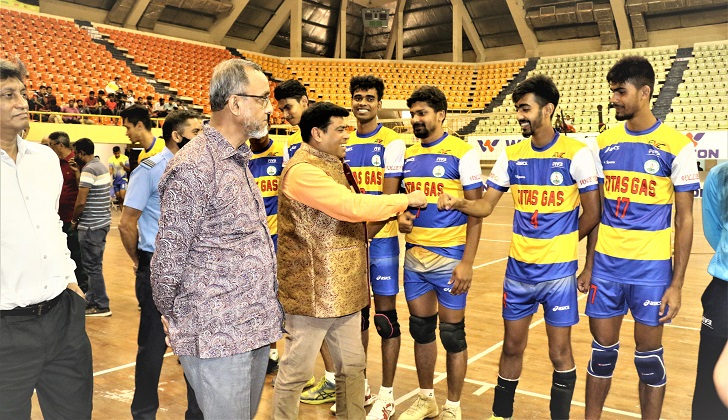 Army beat Police in opener of Bangabandhu Independence Day Volleyball