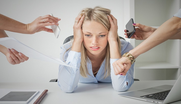 Little stress a day good for your brain
