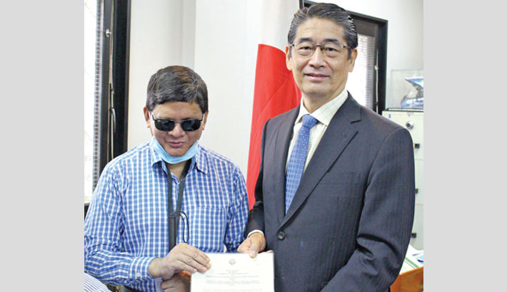 A document after signing an around Tk 7 million deal