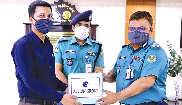 Albion Group provides hand sanitisers to CMP