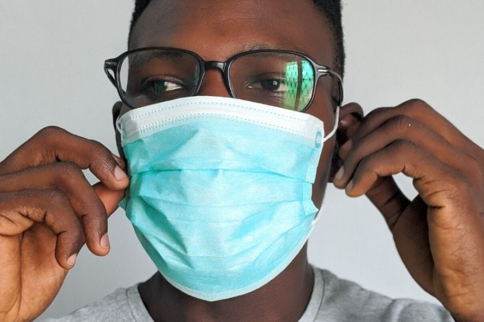 Tips to keep your glasses from fogging up while wearing a mask