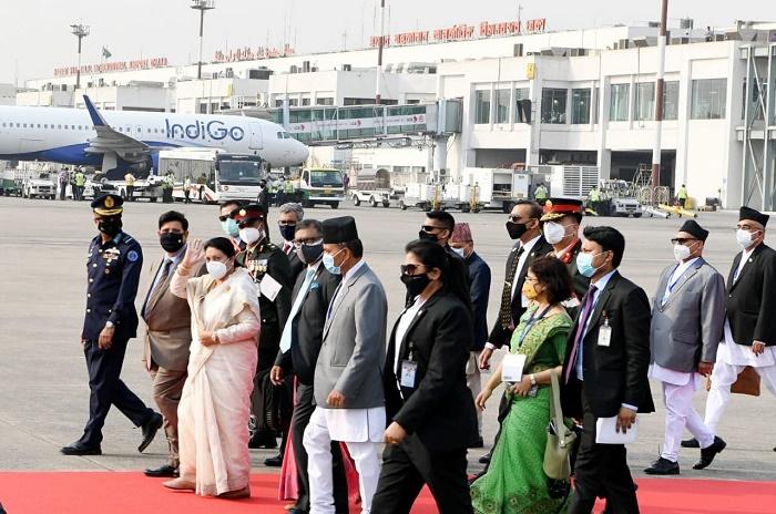 Nepal President Bidya Devi Bhandari leaves Dhaka for home