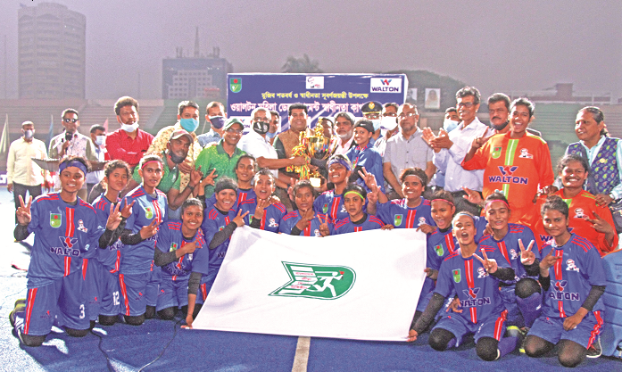 Women's Independence Cup Hockey : BKSP emerge champions