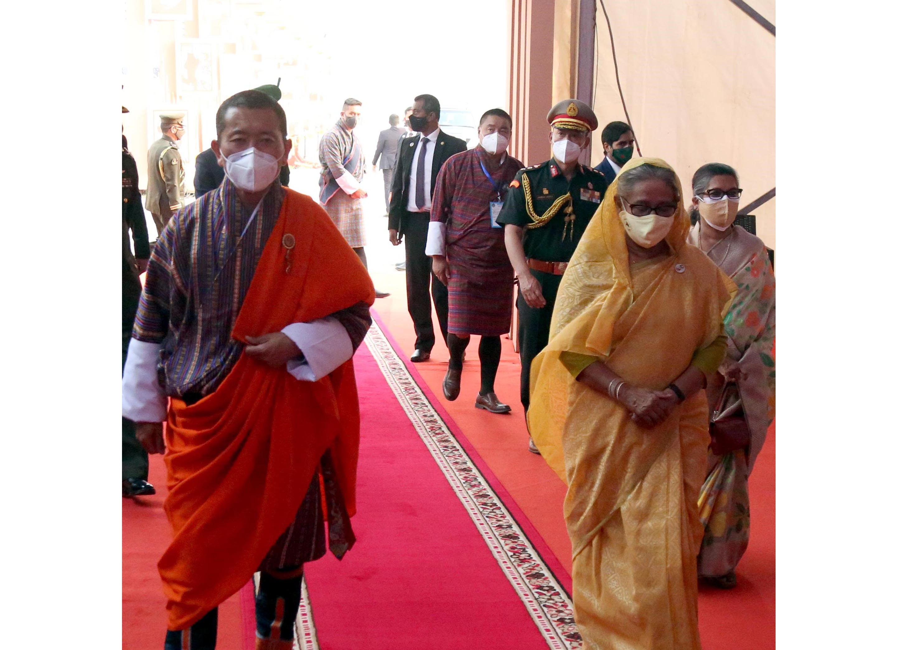 Bhutan Prime Minister Lotay Tshering joins National Parade Ground programme