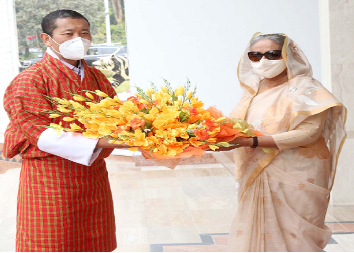 I'm here to hear Bangladesh story sitting next to Hasina: Bhutanese PM