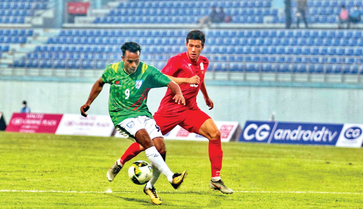 Bangladesh complete victory over Kyrgyzstan
