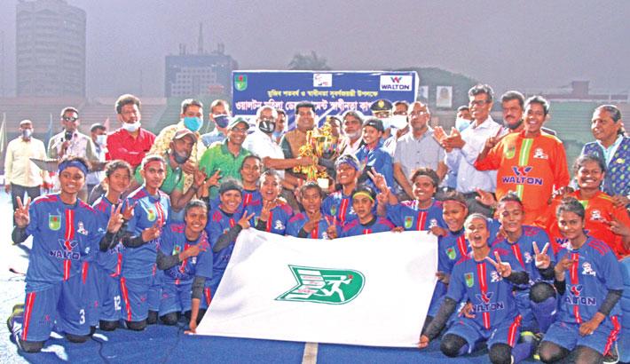 BKSP emerge champions