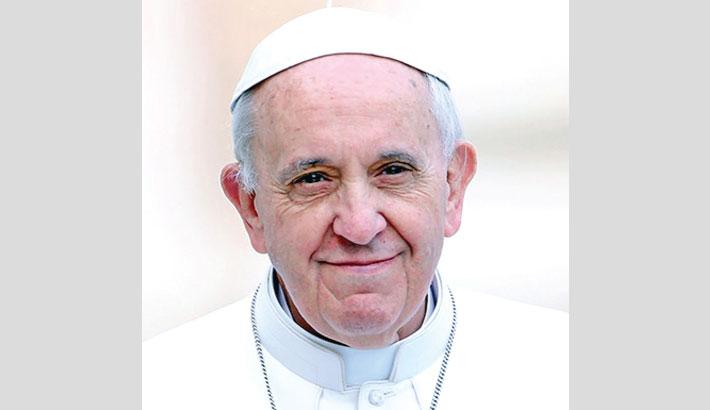 Pope greets Bangladesh