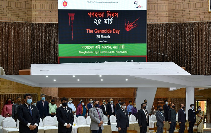 Bangladesh Mission in New Delhi observes the Genocide Day