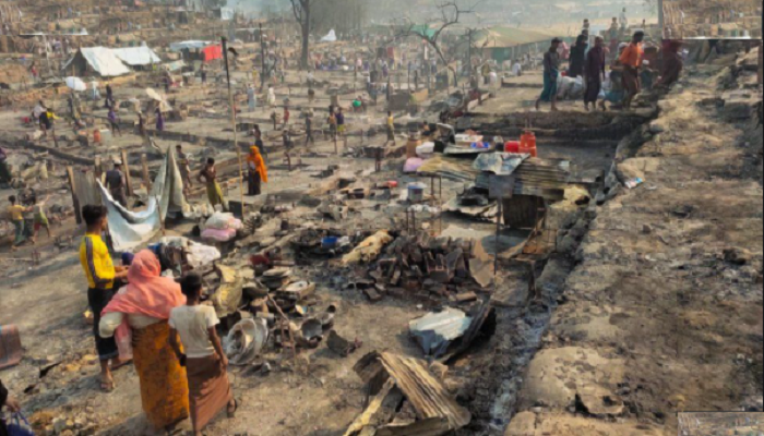 UN releases US$14mn for Rohingyas left homeless by camp fire