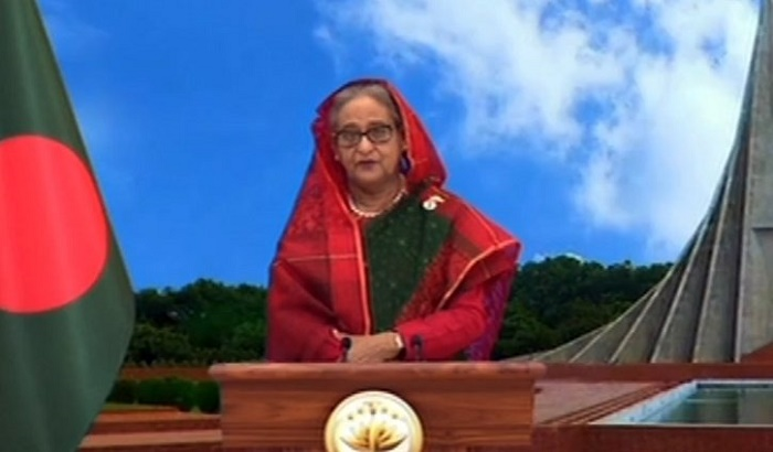 Prime Minister greets all on golden jubilee of country's independence