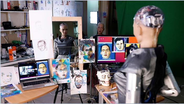 Sophia the Robot 'self-portrait' NFT sells for almost $700K