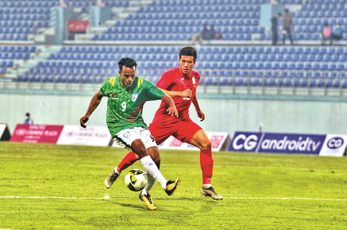 Booters in Three Nations Cup final