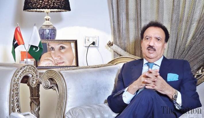 Rehman Malik fears Taliban, Daesh can do terrorist acts in Xinjiang
