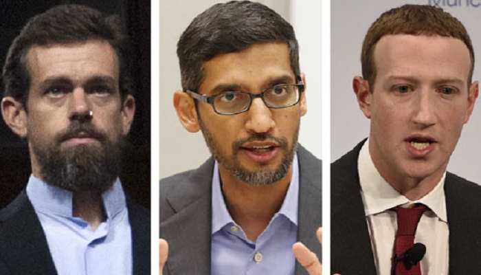 Drama in Congress as tech CEOs face fury over disinformation