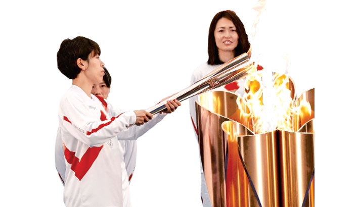 Olympic torch relay finally begins