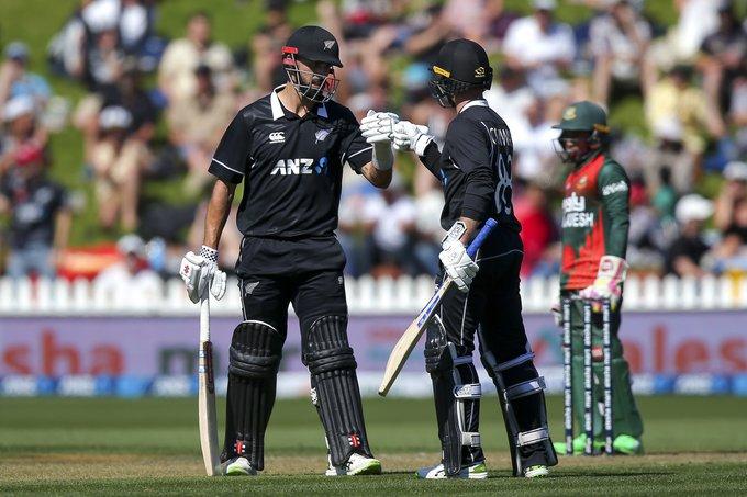 New Zealand set 319-run target for Bangladesh