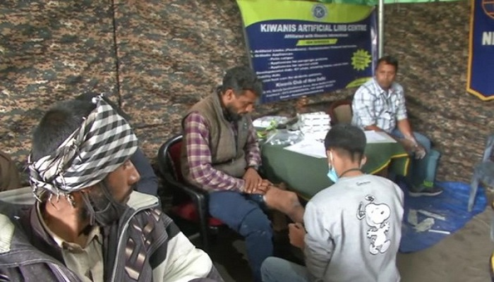 Indian Army, NGO collaborate to provide artificial limbs to disabled people in Poonch