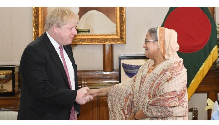 Boris Johnson congratulates Bangladesh on Golden Jubilee