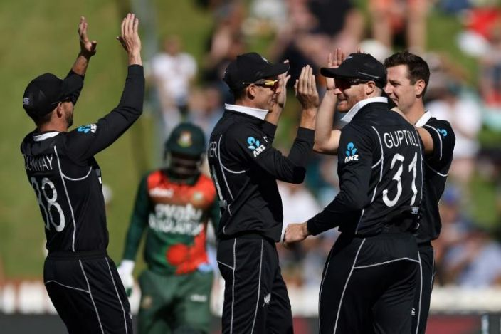 New Zealand win third Bangladesh ODI to sweep series