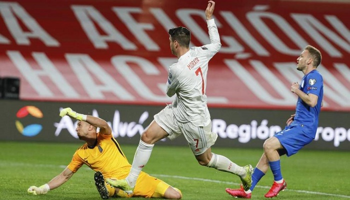 Spain held by Greece in World Cup qualifying opener