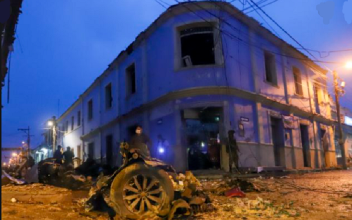 Car bomb wounds 19 in Western Colombia