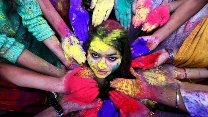 Holi festival on Sunday