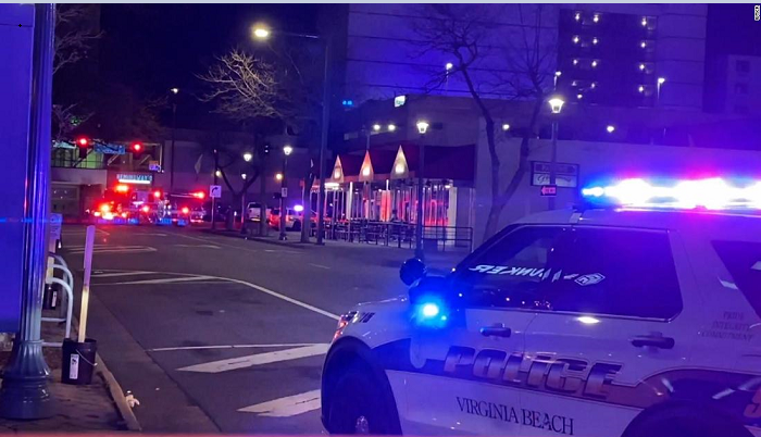 Two killed and eight injured in Virginia Beach shooting incidents