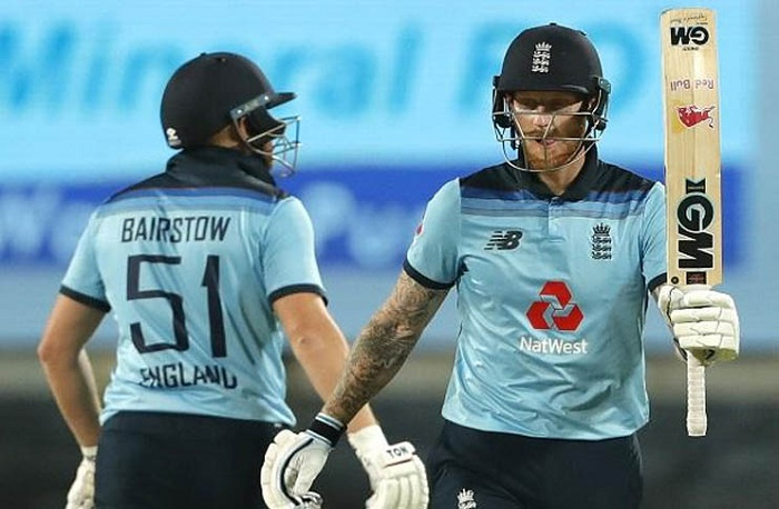 Bairstow and Stokes star as England chase 337 to beat India