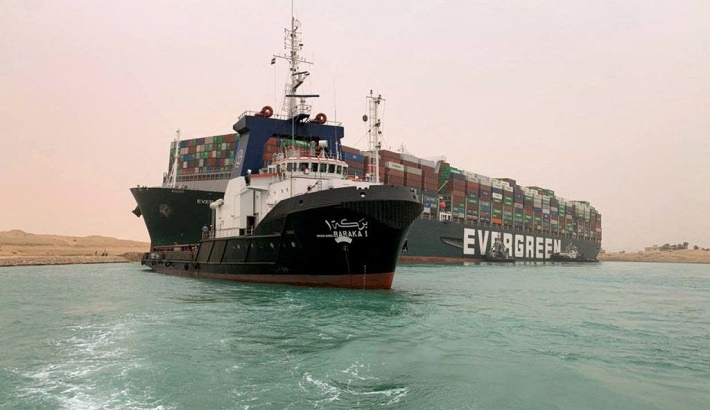 Suez blockage is holding up $9.6bn of goods a day