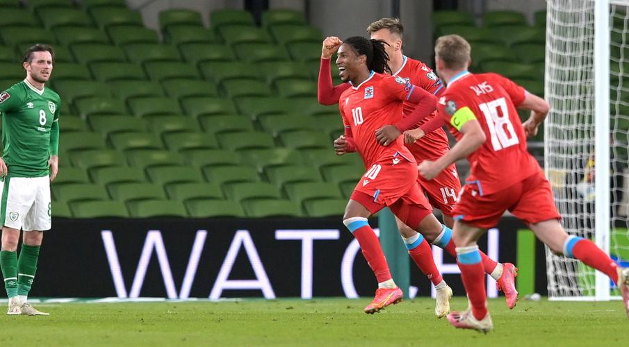 Rodrigues strikes for Luxembourg in shock win at Ireland
