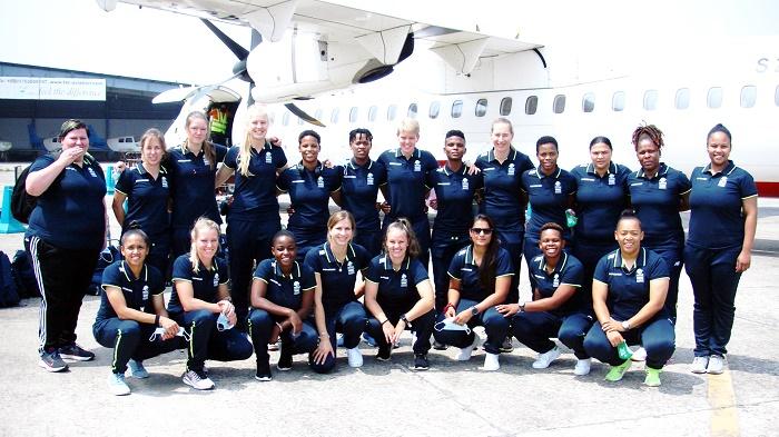 SA Emerging women's team arrive in Sylhet