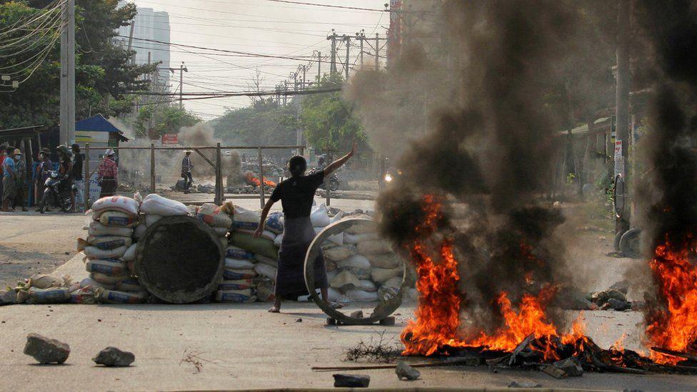 114 civilians killed in Myanmar in deadliest day since coup