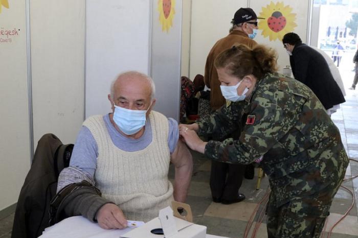 Albania starts mass COVID vaccinations before tourist season