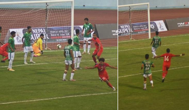 Bangladesh concede 1-2 goals defeat to Nepal