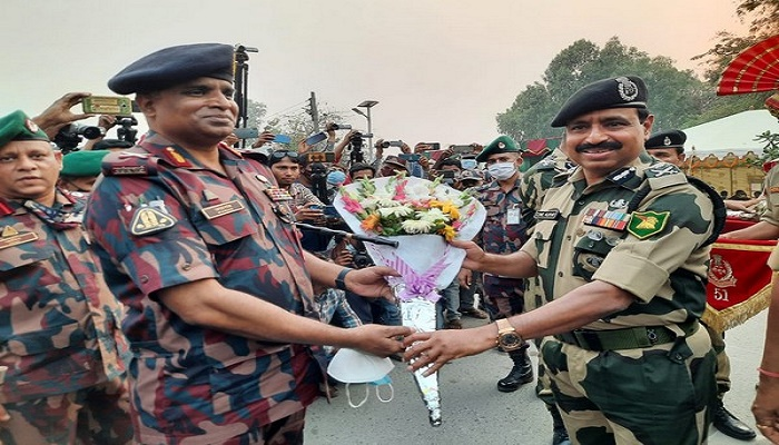 BSF-BGB organised joint retreat to celebrate 50th Independence day of Bangladesh