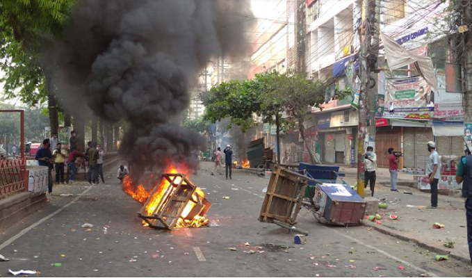 20 injured as BNP, cops clash in Chattogram
