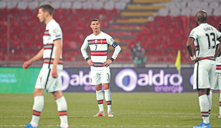 Ronaldo fumes after World Cup qualifying winner denied