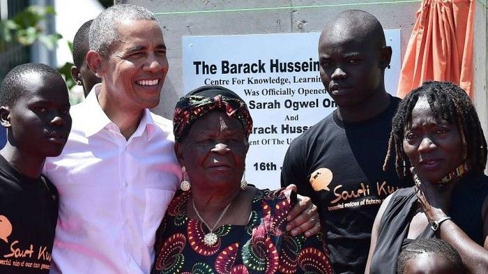 Barack Obama's Kenyan grandmother dies, aged 99