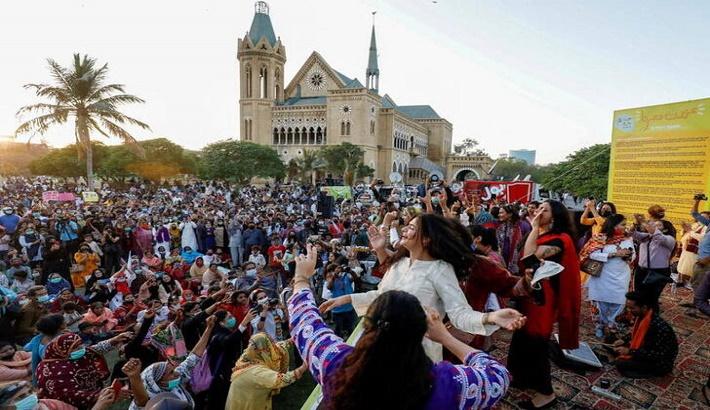 Pakistani judge orders blasphemy probe against organisers of Women's Day march